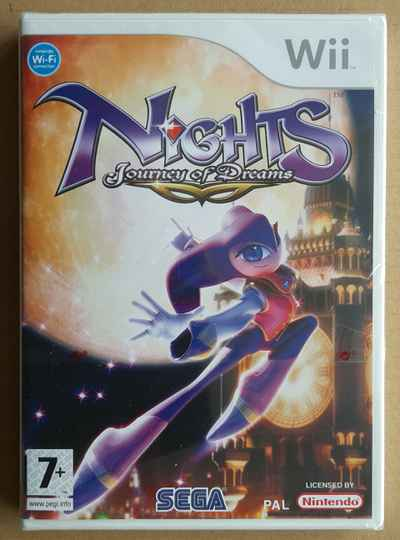Wii - NiGHTS: Journey of Dreams (PAL) factory sealed