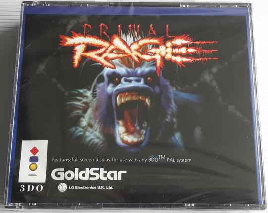 3DO - Primal Rage (region free) factory sealed