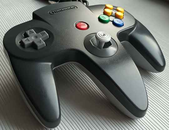 Nintendo 64 - Controller Charcoal Gray/Gray NUS-005 (region free) unboxed good