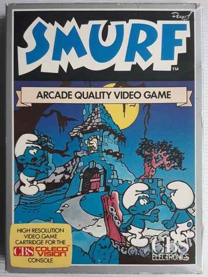 ColecoVision - Smurf: Rescue in Gargamel's Castle (PAL) UK