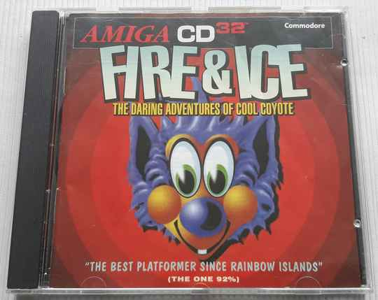 Amiga CD32 - Fire & Ice: The Daring Adventures of Cool Coyote (PAL)