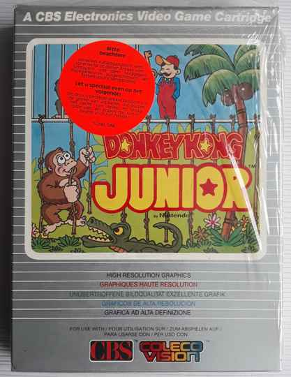 ColecoVision - Donkey Kong Junior (PAL) complete
