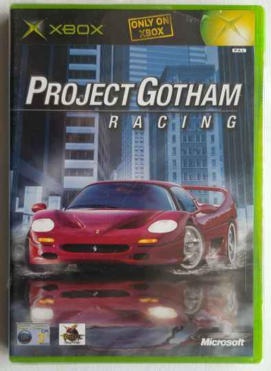Xbox - Project Gotham Racing (PAL) factory sealed
