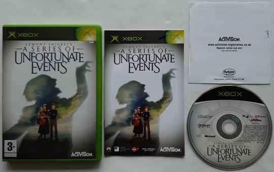 Xbox - Lemony Snicket's A Series of Unfortunate Events (PAL)