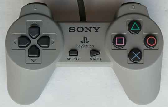 PS1 - Controller Gray SCPH-1080 (region free) unboxed very good