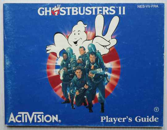 NES - Ghostbusters II   instruction booklet (FRA)
