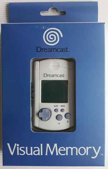 Dreamcast - Visual Memory Unit HKT-7000 (region free) new old stock