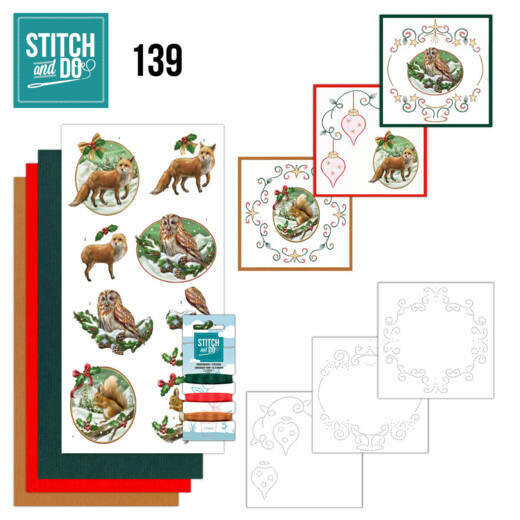 STDO139 Christmas Animals