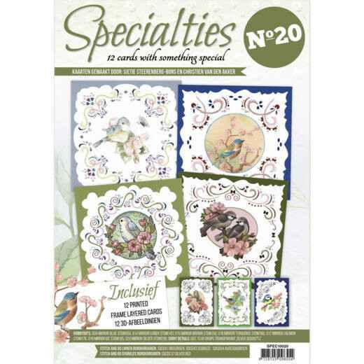 Specialities nrs 1 tot 20