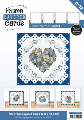 Frame Layered Cards vierkant