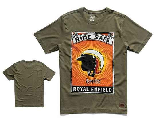 Ride Safe T-Shirt Olive - RECL