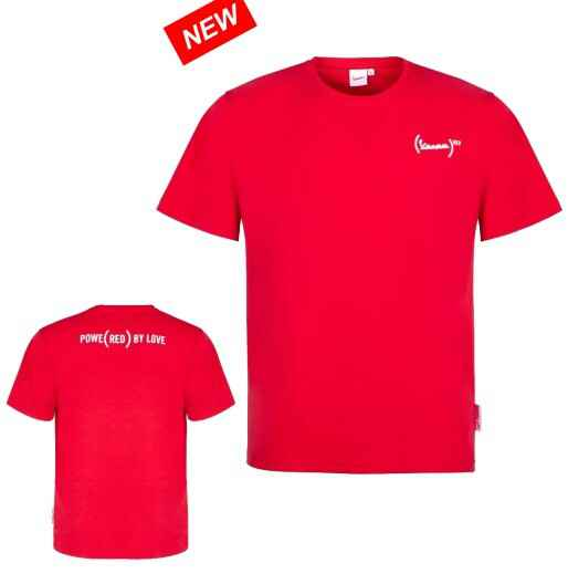Vespa T-Shirt Red
