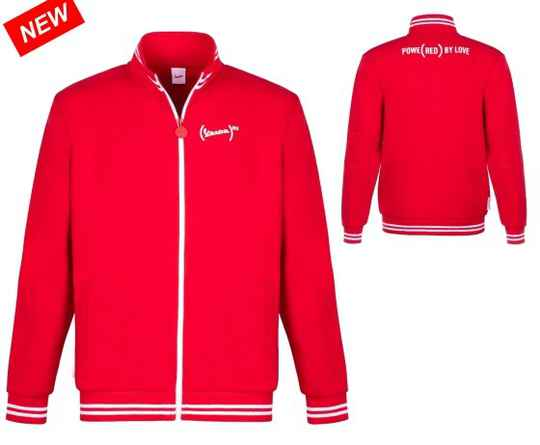 Vespa Fleece RED