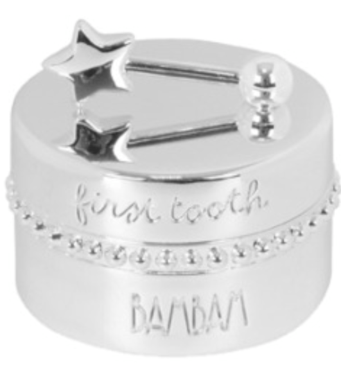 Toothbox silver plated