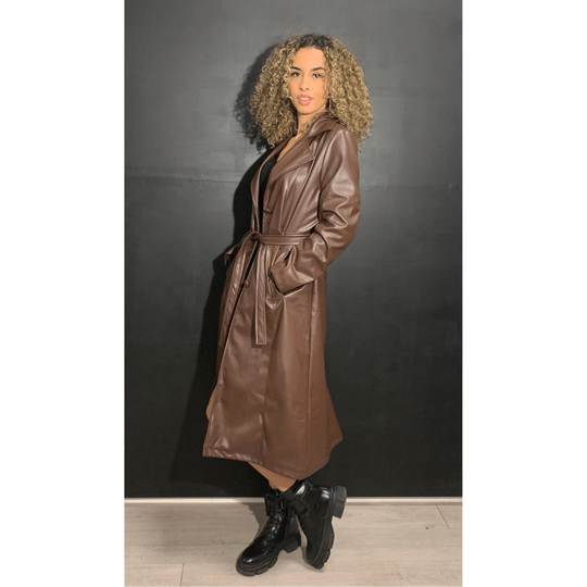Trenchcoat - Leather Brown (149)