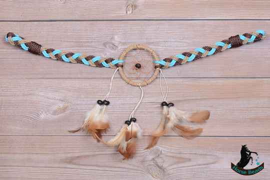 Braided Dreamcatcher frontriem