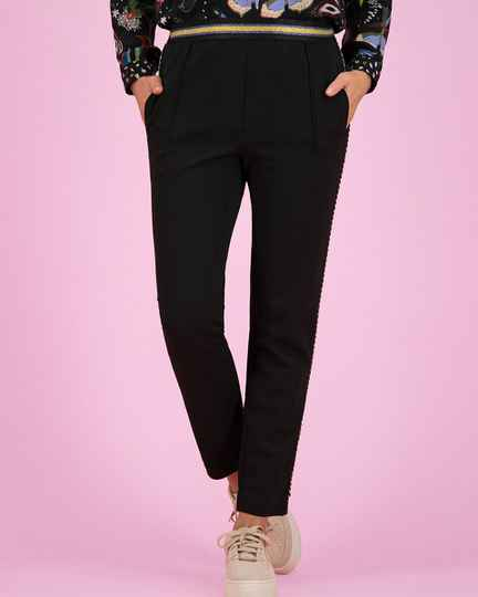 POM  pantalon SP6354 black night 24993