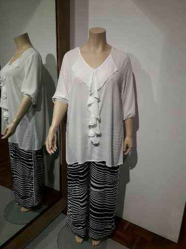 ONLY - M  ROEZEL BLOUSE PANNA(WIT) 150.86 ( 25167 )