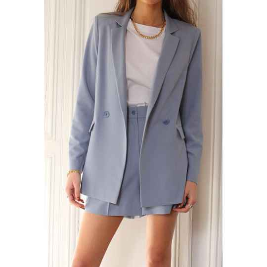 Veste Tailleur Baby Blue Take On Me