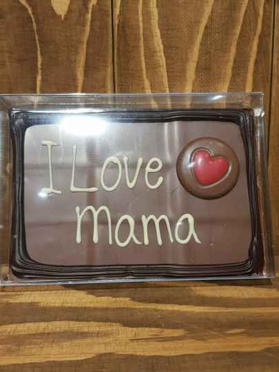 Chocolade tablet I love mama