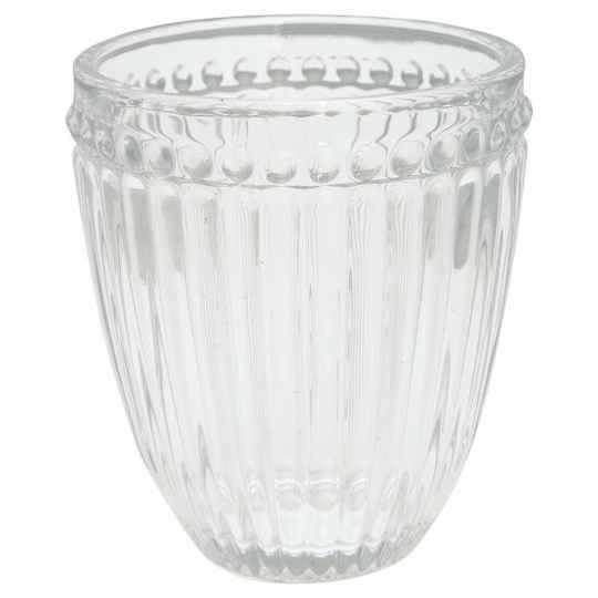 GreenGate Water Glass Alice Clear
