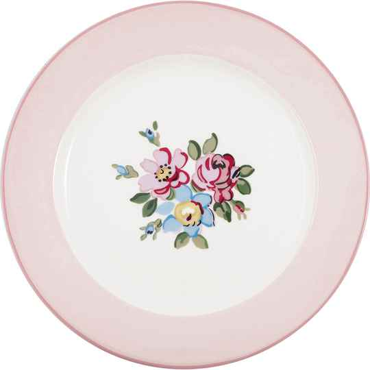 GreenGate Dinner Plate Madison White   STWDINMDS0106
