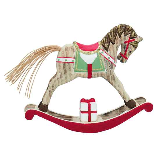 GreenGate Decoration Rocking Horse Red Medium
