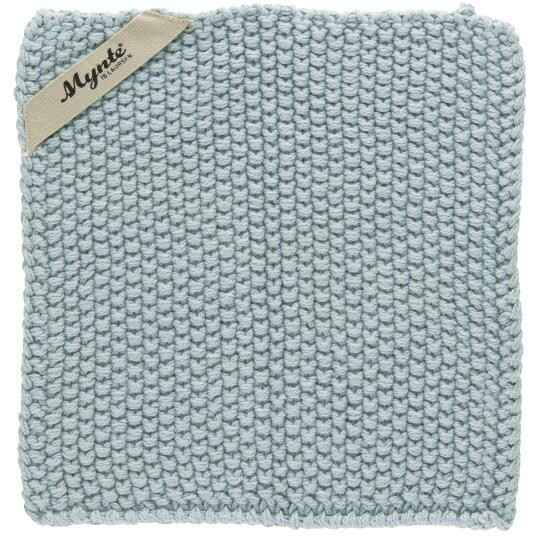 IB-Laursen Pot holder Mynte Nordic Sky knitted  6350-26