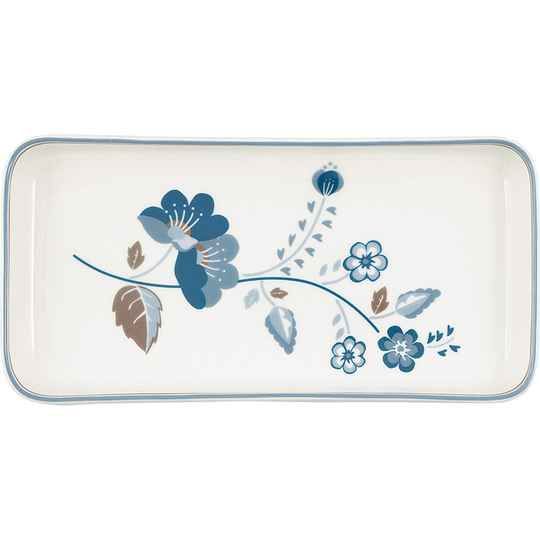 GreenGate Plate / Small Tray Mozy White  STWTRASMOZ0104