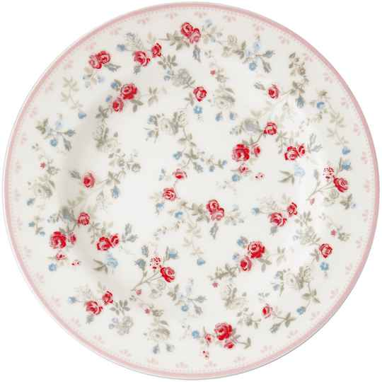 GreenGate  Small plate Carly white  STWSMACLY0106
