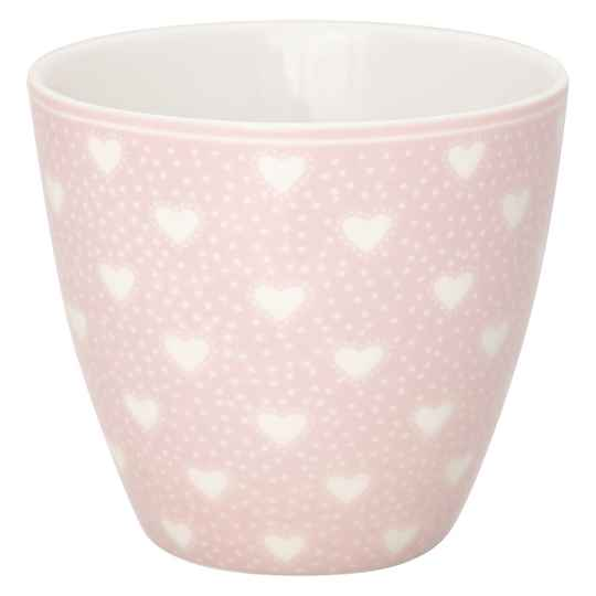 GreenGate Latte cup Penny pale pink   STWLATPNY1906