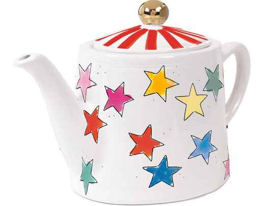 BLOND AMSTERDAM EB: UNI TEAPOT STAR MIX 1,5L  201171