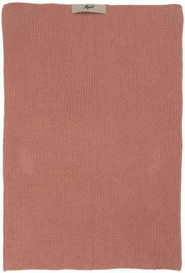 IB-Laursen Towel Mynte desert rose knitted 6352-64