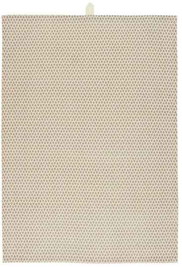 IB-Laursen  Tea towel w/small pa ern in faded rose  66031-37