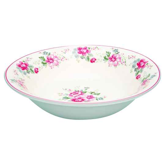 GreenGate Salad Bowl Elouise White