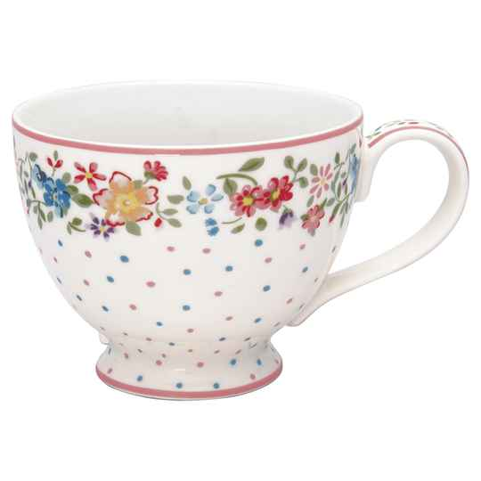 GreenGate  Teacup Belle white    STWTECBLL0106