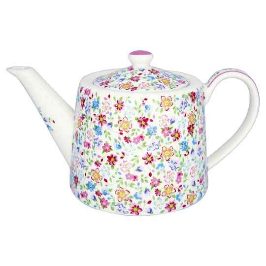 GreenGate  Teapot Clementine white    STWTEPCLM0102