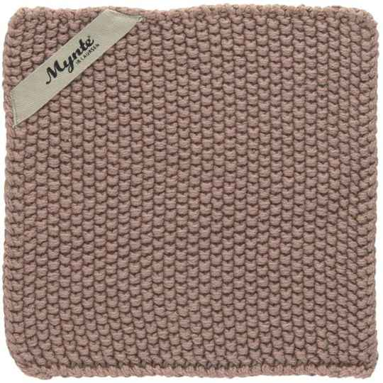 Ib Laursen Pot Holder Malva Knitted  6350-38