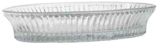 IB-Laursen Glass bowl oval grooved 1146-00