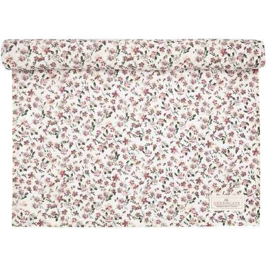 GreenGate Table Runner Marie Petit Dusty Rose 45 x 140 cm   COTTAR140MPE1104