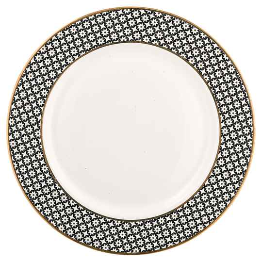 GreenGate Dinner Plate Lara Gold 25 cm