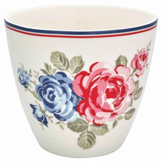 GreenGate Latte Cup Hailey White