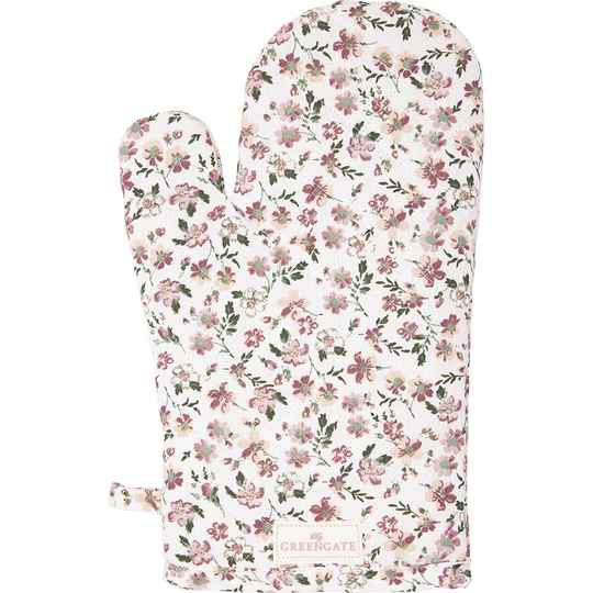 GreenGate Grill Glove Marie Petit Dusty Rose   COTGRIMPE1104