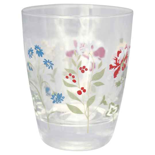 GreenGate  Glass Water Thilde white   GLAWATTHL0112