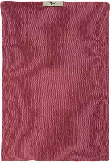 IB-Laursen Towel Mynte Blackberry Parfait knitted   6352-65