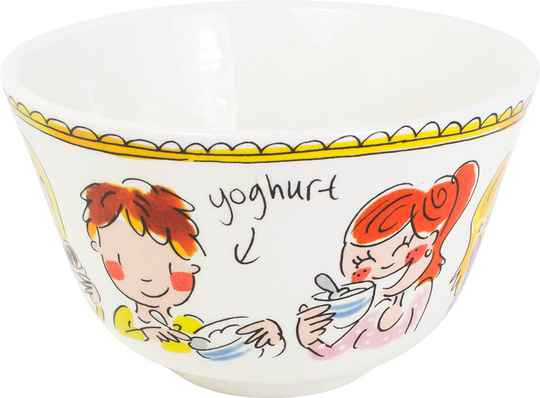 Blond Amsterdam BOWL 14 CM RED TEXT  200214