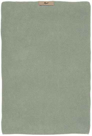 IB-Laursen  Towel Mynte dusty green knitted   6352-81