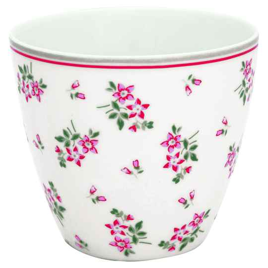 GreenGate Latte Cup Avery White