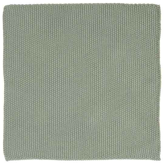 IB-LaursenDish cloth Mynte dusty green knitted    6351-81