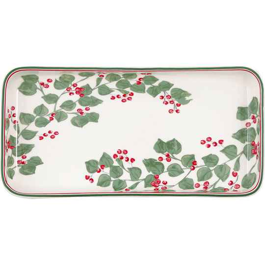 GreenGate Plate / Small Tray Scarlett White  STWTRASSCT0104